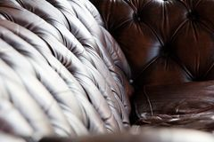 Luxury leather Stock Photography