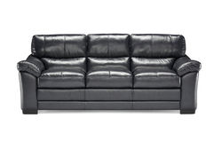 Luxury leather sofa isolated on white background Royalty Free Stock Image