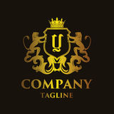 Luxury Letter `Y` Logo Royalty Free Stock Images