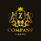 Luxury Letter `Z` Logo Royalty Free Stock Photography