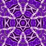 Card for luxury lifestyle design in lavender color. Ethnic hexagonal purple pattern. Luxury lifestyle design in lavender color. Ethnic hexagonal purple pattern stock illustration