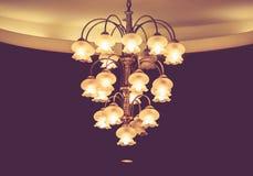 Luxury lighting decoration Stock Photography