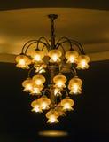 Luxury lighting decoration vintage furniture Stock Photo