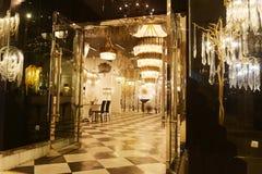 Luxury lighting shop Royalty Free Stock Photos