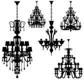 Luxury lighting (vector) Stock Images