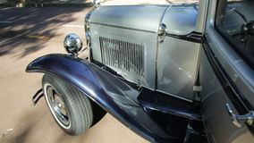 Luxury Limousine Ford Model A. Guildford, Swan Valley, West Australia - December 2017: Luxury Limousine, the Ford Model A used for wedding services. An old Limo stock video footage