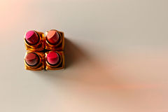 Luxury lipsticks Stock Photos