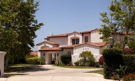 San Diego Luxury home stock image