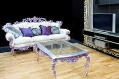 Luxury living room Royalty Free Stock Image