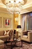 A luxury living room atmosphere model Royalty Free Stock Images