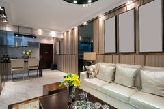 Luxury living room Stock Images