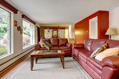 Luxury living room interior Royalty Free Stock Photography