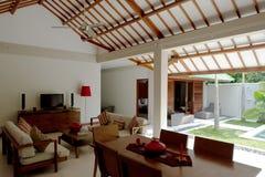 Luxury living room Interior Stock Photography