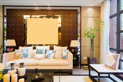 Luxury living room Royalty Free Stock Photography