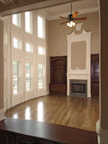 Luxury Living Room with window wall 1 Royalty Free Stock Photos