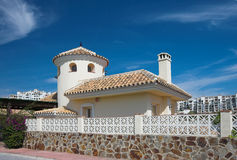 Luxury living in Spain stock photography