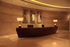 Luxury lobby Stock Photography