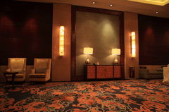 Luxury lobby. For five stars hotel Stock Images