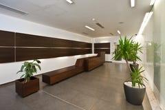 Luxury lobby. A empty lobby in new luxury hotel Royalty Free Stock Photos