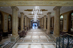Luxury lobby Stock Images