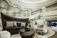 Luxury lobby interior. Stock Image