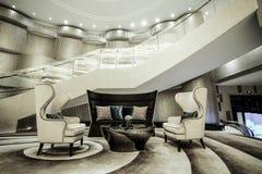 Luxury lobby interior. Stock Photography