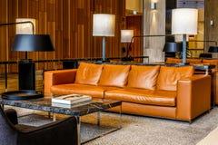 Luxury lobby royalty free stock photo