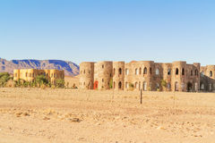 Luxury lodge in the desert in Namibia Stock Images