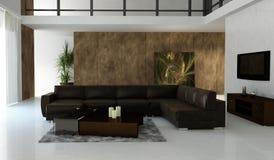 Luxury Loft Stock Photo
