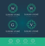 Luxury Logo Royalty Free Stock Photos
