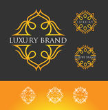 Luxury Logo Royalty Free Stock Photo