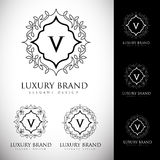 Luxury Logo Letters Royalty Free Stock Photo