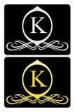 Luxury logo 2 Royalty Free Stock Photos
