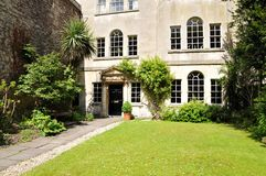 Luxury London Town House and Garden. Exterior of Luxury London Town House and Garden Stock Images