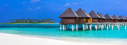Luxury Maldives vacation Royalty Free Stock Photo