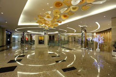 Luxury Mall in Abu Dhabi Stock Photos