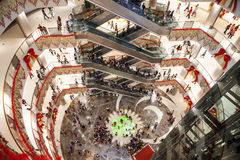 luxury mall interior Royalty Free Stock Image