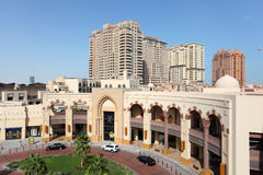 Luxury Mall in Porto Arabia, Qatar Stock Image
