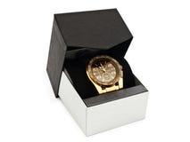 Luxury man clock Royalty Free Stock Photos