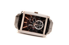 Luxury man's wristwatch Royalty Free Stock Photo
