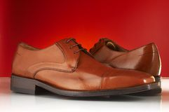 Luxury man shoes 10. Luxury black shoes for man Royalty Free Stock Photo