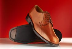 Luxury man shoes 11. Luxury black shoes for man Stock Image