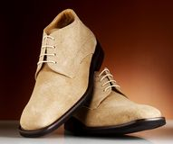 Luxury man shoes 12. Luxury black shoes for man Stock Photo
