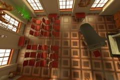 Luxury manor interior Stock Photography