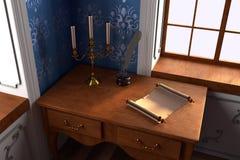 Luxury manor interior Royalty Free Stock Photo