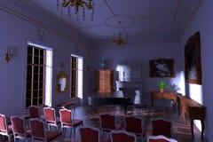 Luxury manor interior Royalty Free Stock Photography