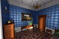 Luxury manor interior Stock Photo