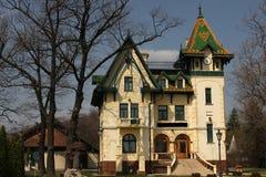 Luxury mansion. On Palic lake Royalty Free Stock Photography