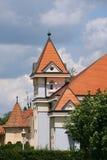 Luxury mansion. On Palic lake Stock Photo