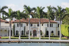 Luxury mansion Stock Images